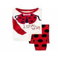 wholesale  gaping pajamas   love bug