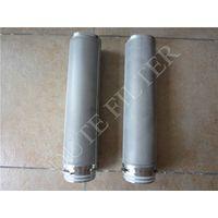 backwashing regeneration performance stainless steel filter cartridge thumbnail image