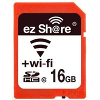 new ez-Share WiFi flash momery card 16GB Class 1 0 camera wireless SD card 2nd generation