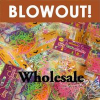 Wholesale Silly Shaped Rubber Bands Bandz Bracelets-Big QTY in stock