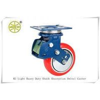 Medium Heavy Duty Shock Absorption Caster With Two Type Springs
