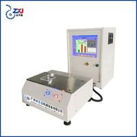 Guangzhou blower impeller testing machine blade fan dynamic balancing machine