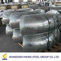 butt weld carbon steel pipe fittings weld flange ansi b16.9 thumbnail image
