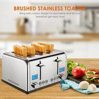 Stainless Steel 4 Slice Toaster ST030 thumbnail image