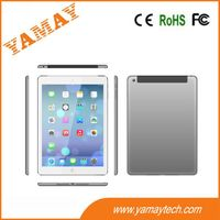 9.7inch 3G MTK8312 dual core phone tablet pc with home key