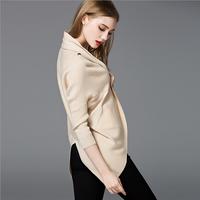 2017 Autumn Hot Sale elegant Knit bat sleeve beautiful cardigan sweater coat for Women