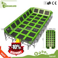 CE Certificate indoor trampoline park with baby ball pit,bungee trampoline kids thumbnail image