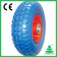 PU Foam Flat free wheel