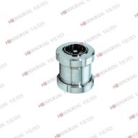 Stainless Steel Sanitary Check Valve With Union Connection thumbnail image