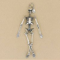 Sterling Silver Skeleton Pendant