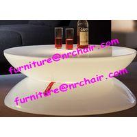Acrylic led lounge coffee table