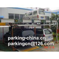 Puzzle parking system 2 levels