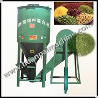 feed making machine crusher and mixer for animal feed farm