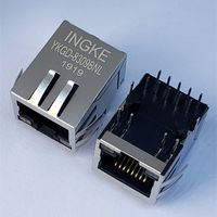 7499111441A YKGD-8309BNL 1 Port 1000 Base-T RJ45 Magnetic Jack