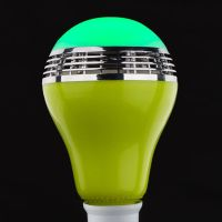 LED Color Bulb Light E27 Bluetooth Control Smart Music Audio Speaker Lamps led bluetooth speaker bul