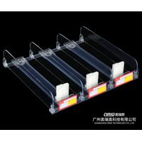 Hot Sale Cigarette Pusher Shelf Sliding ABS Display Pusher Systems For Convenience Stores and Superm