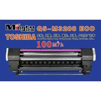 High Speed 3.2m toshiba printhead Outdoor Wide Large Forma