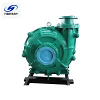 China Horizontal Centrifugal Industrial Mining Heavy Duty Slurry Pump