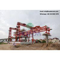 U type bridge girder beam launcher