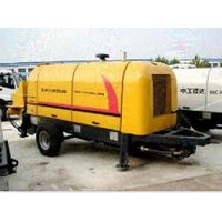 Construction Trailer Concrete Pump