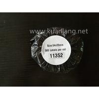 200 x Rolls Dymo 11352 Dymo11352 Compatible Labels 54mm x 25mm500pcs permanent adhesive