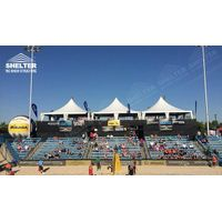 2016 AVP Beach Volleyball (USA) - 10m High Peak Gazebo Canopy for Reception