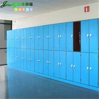 Compact Phenolic Panel Lockers for Supermarket