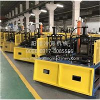 Ceiling CD60x27 and UD28x27 Profiles Double Line Roll Forming Machine thumbnail image