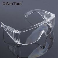 Difanmax Protective Goggles Safety Glasses Work Dental Eye Protection Spectacles Eyewear