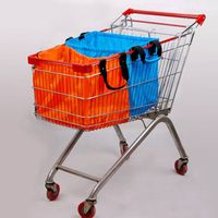 2013 new Folding supermarket cart Bag with hook from factory thumbnail image