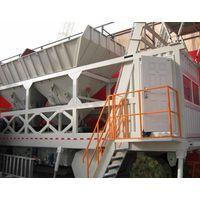 Mobile Concrete Mixing Plant  (YHZS25)