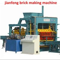 Fully  automatic block making machine for building construction thumbnail image
