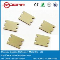 HTCC CuW heat sink and Brazed Component Materials