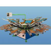 Semi automatic rotary printing machine(ajm-52424s)