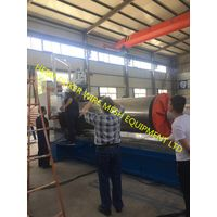 1 meter diameter tube wedge wire screen plate welding machine