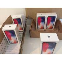 Brand New iPhone X 64, 256GB Factory unlocked