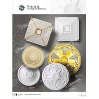 2014 manufactory direct marketing pu ceiling medallions