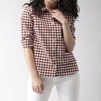 ladies cotton shirt-002