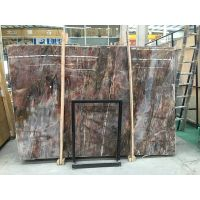 chinese red color marble slabs - louis red