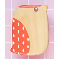Wooden Detangling Paddle Hair Brush for Kids Hair Care Antistatic Tan Mujiang thumbnail image