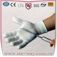 HHPE Steel Wire Cut Resistant Gloves