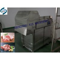 the frozen meat cutting machine