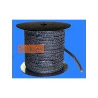 Flexible graphite carbon fibre packing