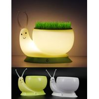 LED snail small night lamp