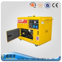 Manufacture factory 3KW silent diesel generator set from China