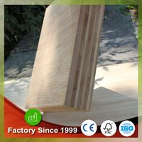 Hot sale 9 layers 40mm bamboo laminate sheets 4x8 solid bamboo table top