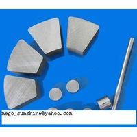 sintered AlNiCo high-energy permanent magnets