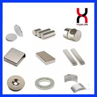Permanent Sintered Rare Earth Neodymium Magnetic Material Disc/Block/Cylinder/Countersunk/Arc Magnet thumbnail image