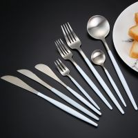 2019 Hot sale Cupitol style Stainless steel Cutlery set thumbnail image
