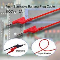 4MM Stackable Banana Plug Cable To Banana Plug Cable Test Lead thumbnail image